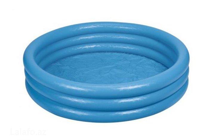 Bakı şəhərində Intex Бассейн Crystal Blue Pool Кристалл большой(168х41см)
