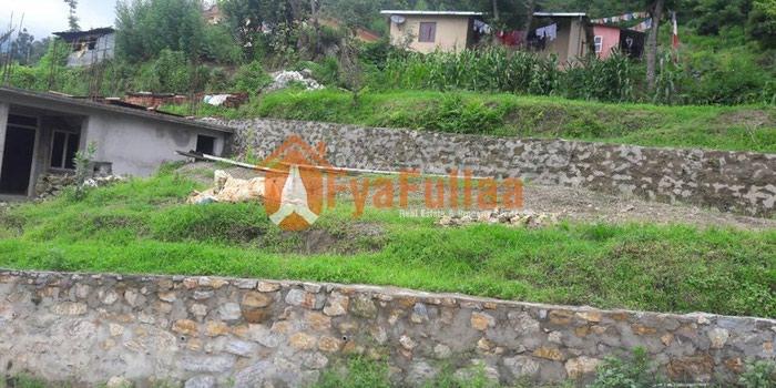 Land having area 0-5-0-0, 20 feet dhalan road, facing south is on sale in Kathmandu