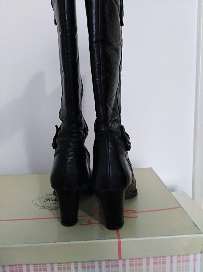 Čizme kožne, u dobrom stanju, izuzetno udobne, vel. 39. Photo 2