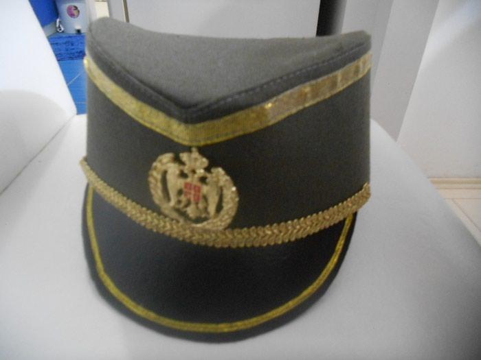 Stara oficirska KAPA iz kraljevine ocuvana -Cena 20 e fiksna - Bor