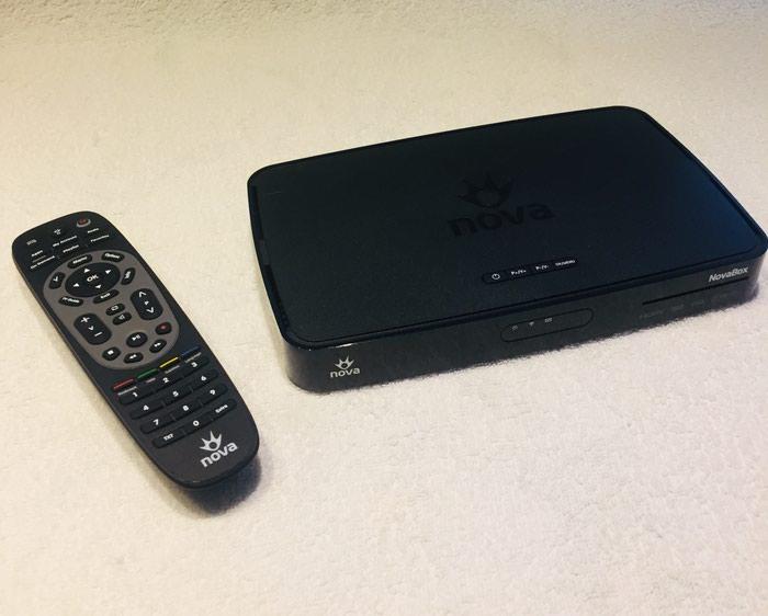Αξεσουάρ για την τηλεόραση και βίντεο - Περιφερειακή ενότητα Θεσσαλονίκης: Nova DZS3001IFN αποκωδικοποιητής και τηλεχειριστήριο/τηλεκοντρόλ για δορυφορική λήψη