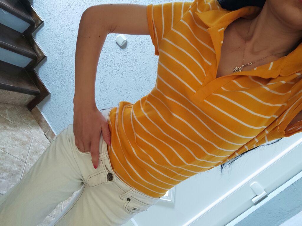 Ženske majice - Jagodina: Oker polo majica,s/m
