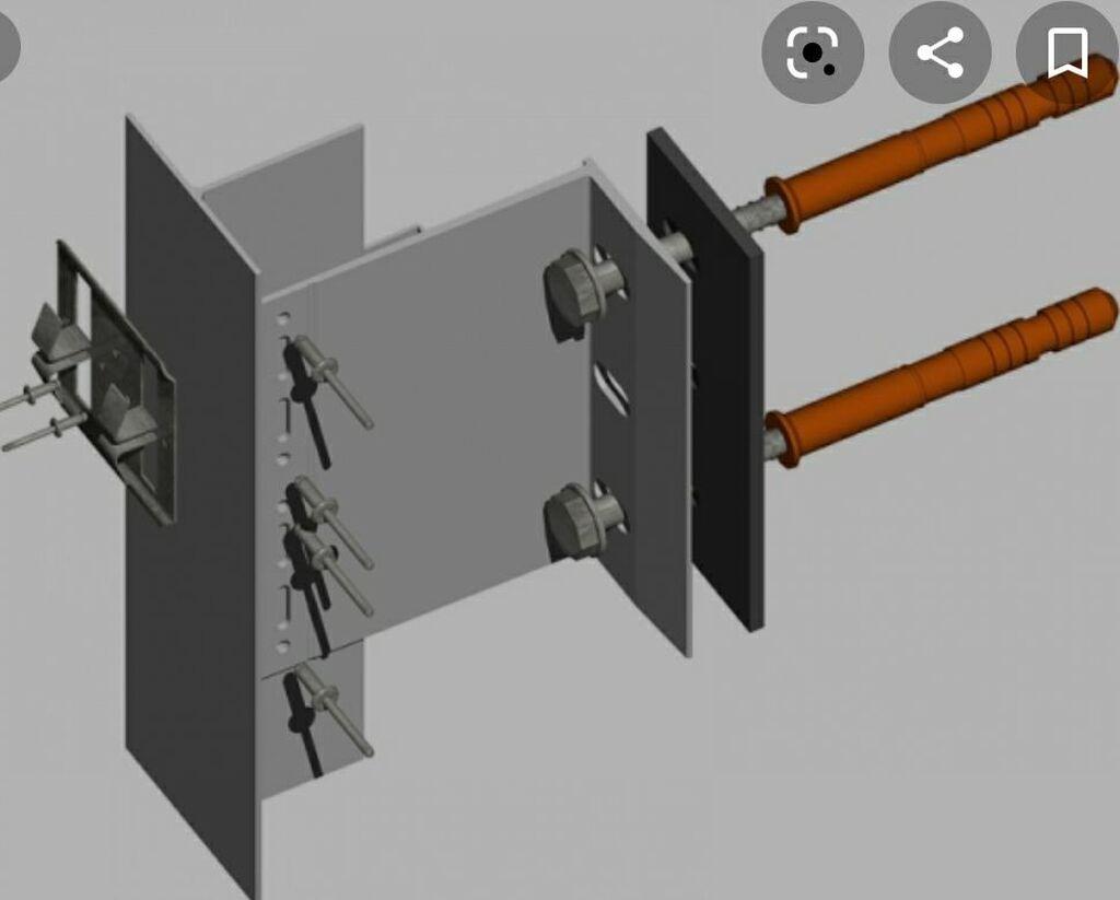 Фасадный анкер для подсистемы вентилируемого фасада. Поставляем весь: Фасадный анкер для подсистемы вентилируемого фасада. Поставляем весь