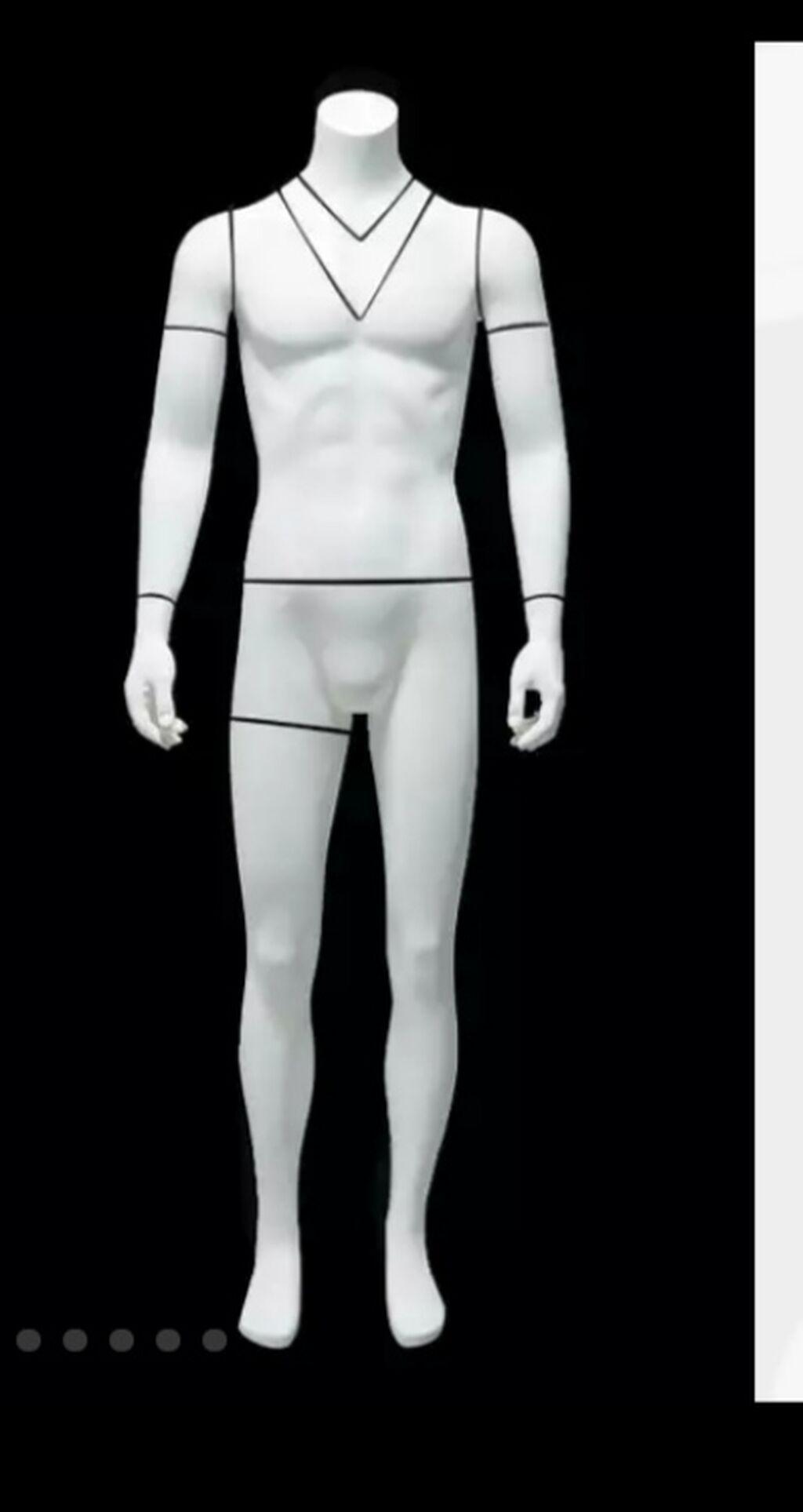 В наличии Манекен для мужской одежды