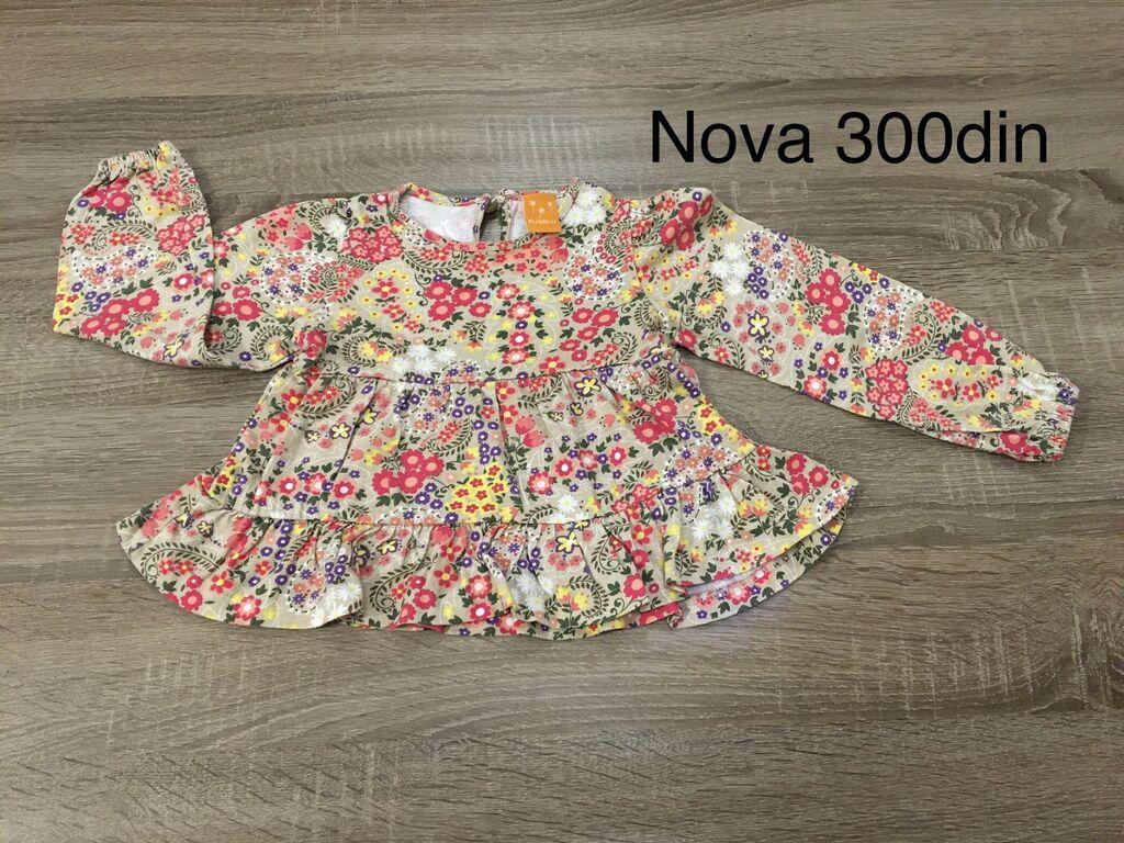 Dečiji Topići I Majice - Indija: Nova bluza za devojcice Vel.92 1,5-2god majice