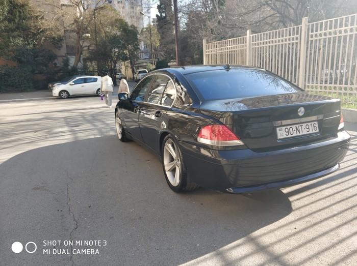 BMW 745 2002. Photo 3