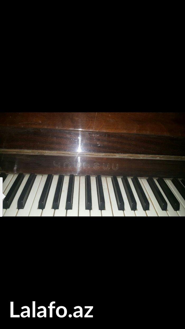 Bakı şəhərində Qedimi pianino real aliciya endirim edecem