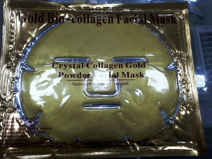 коллагеная маска золото цена 25 tjs в категории уход за