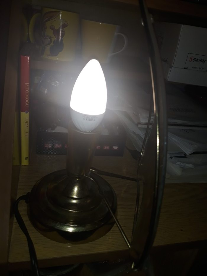 Prelepa stilska led lampa.. Photo 3
