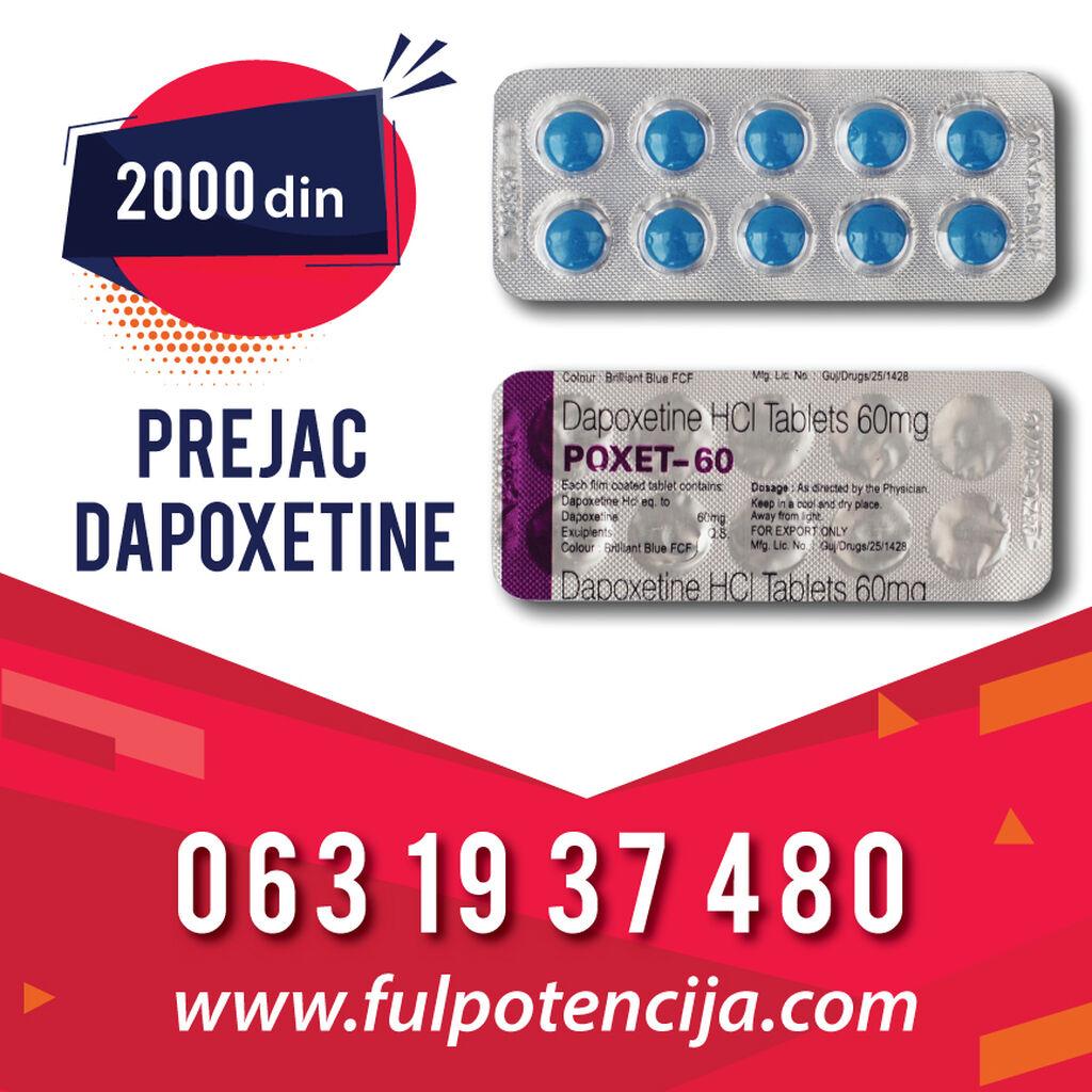 PREJAC DAPOXETIN 60 - TABLETE Novi Sad
