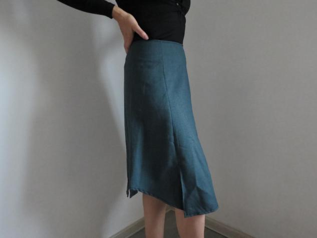 Plava suknja A (42 vel)