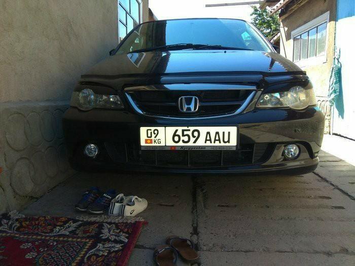 Honda Odyssey 2002. Photo 6