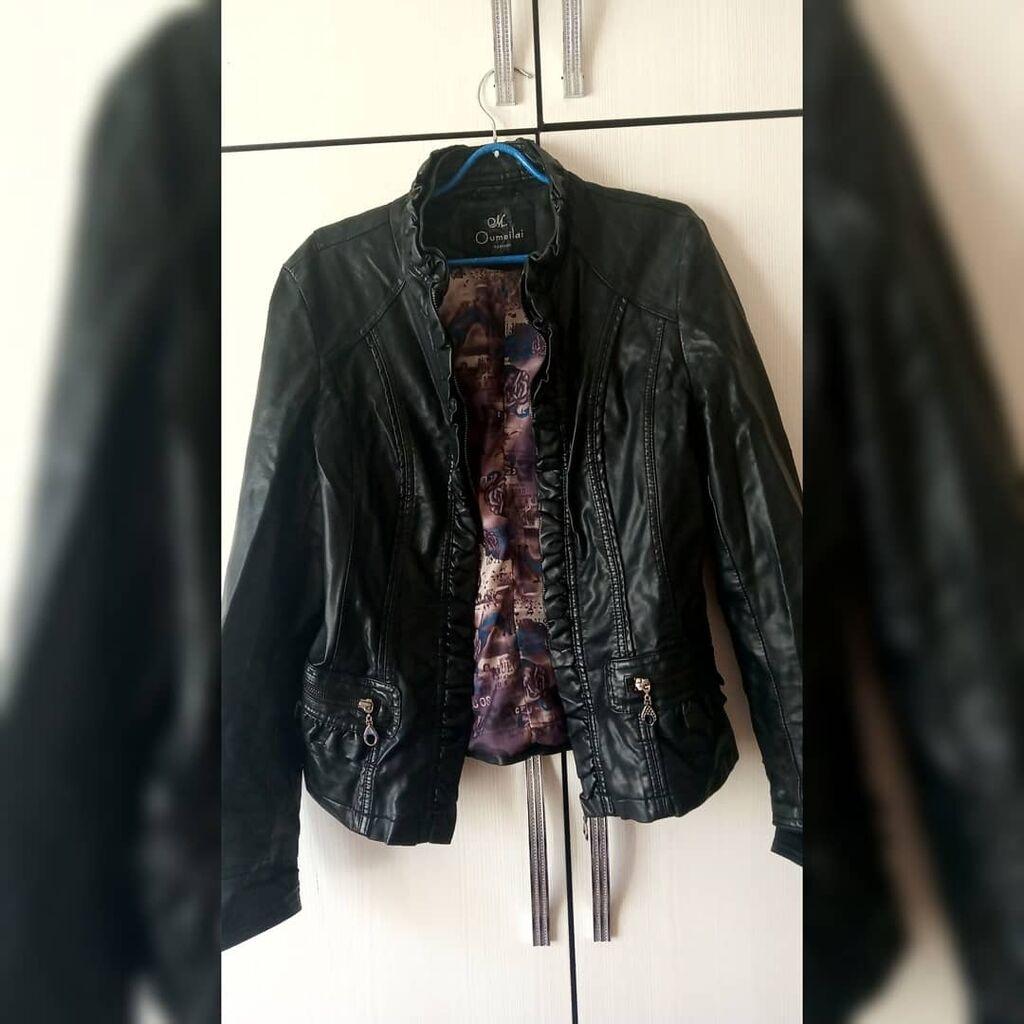 Продаю кожаную курточку размер м  Состояние отличное Цена 500 сом: Продаю кожаную курточку размер м  Состояние отличное Цена 500 сом