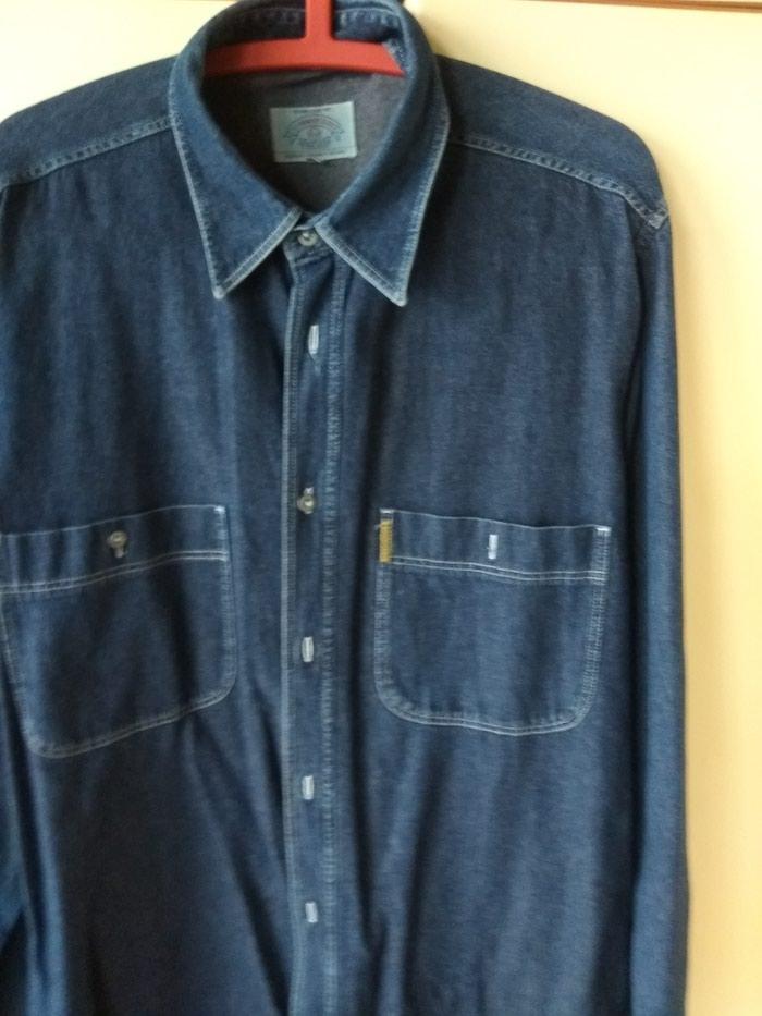 ARMANI πουκάμισο τζιν, γνήσιο, L (μεγάλη φόρμα) από την προσωπική μου καρνταρόμπα