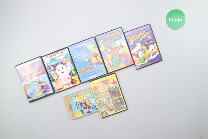 Комплект дисків з дитячими мультфільмами (7 шт.)    Стан гарний: Комплект дисків з дитячими мультфільмами (7 шт.)    Стан гарний