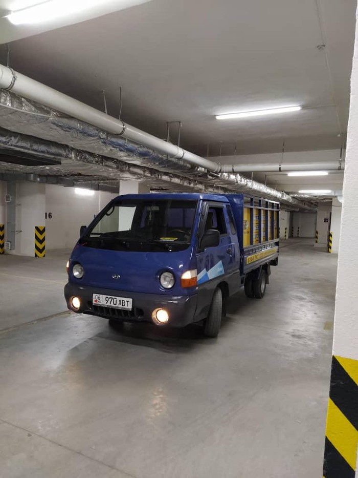 Портер такси бишкек переезд офисов квартира под ключ 24/7. Photo 0