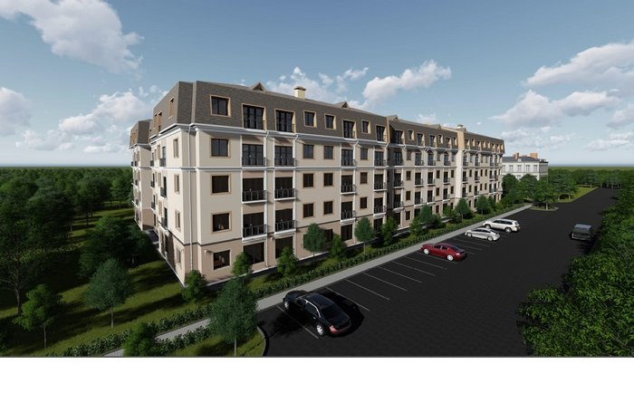Продаю квартиры на Баха/Магистраль дом, 5 этажей  от 33 м2 до 62 м2, в Бишкек