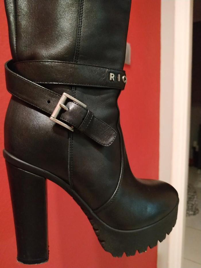 Μπότες μέχρι γόνατο, δέρμα, Richmond, νούμερο 36, σχεδόν καινούριες. Photo 7