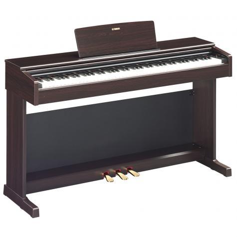 Цифровое пианино Yamaha Arius YDP-144 R это новый инструмент с богатым звуком концертного рояля Yamaha CFX, полифонией на 192 и 10 тембрами