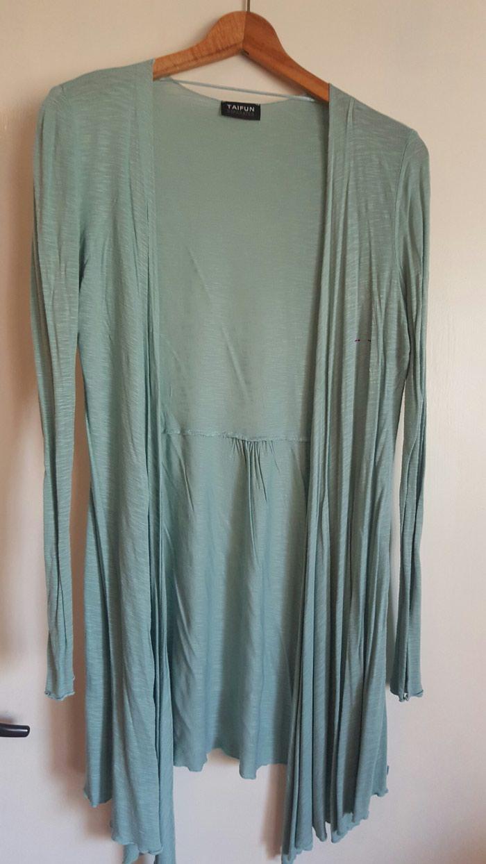 Zeleni pamucni ogrtac br.38 (M) prijatan