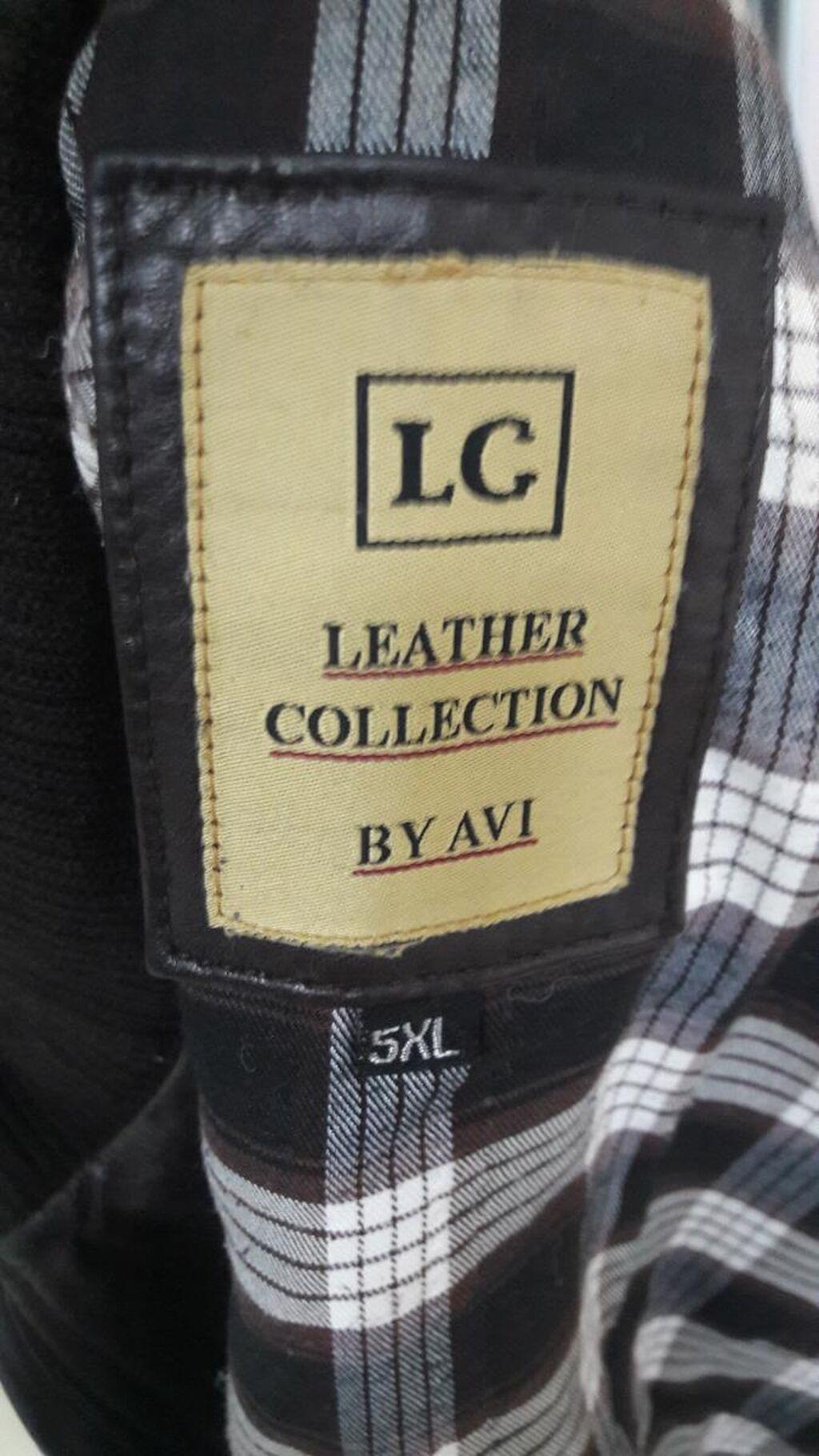 Muska kozna jakna, broj 5XL
