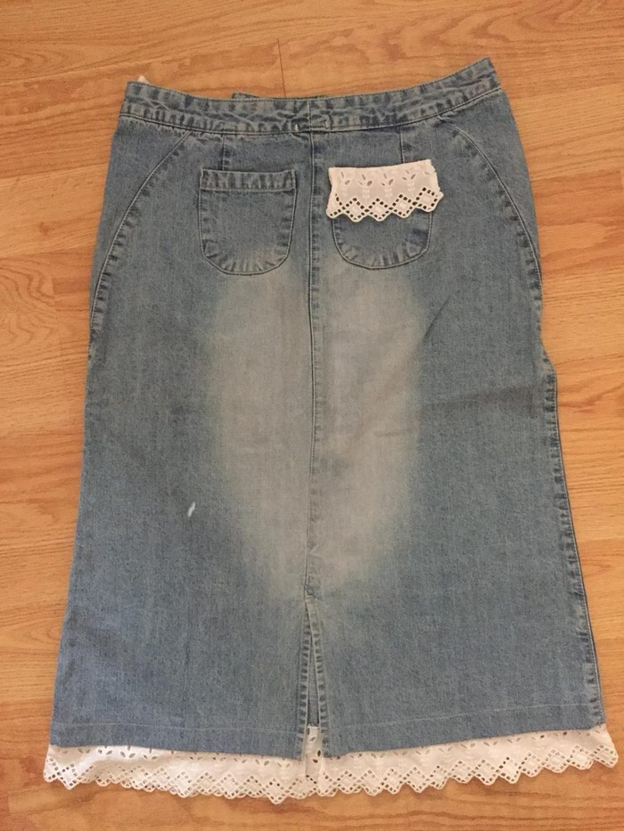 Teksas suknja ispod kolena L velicind - Kopaonik