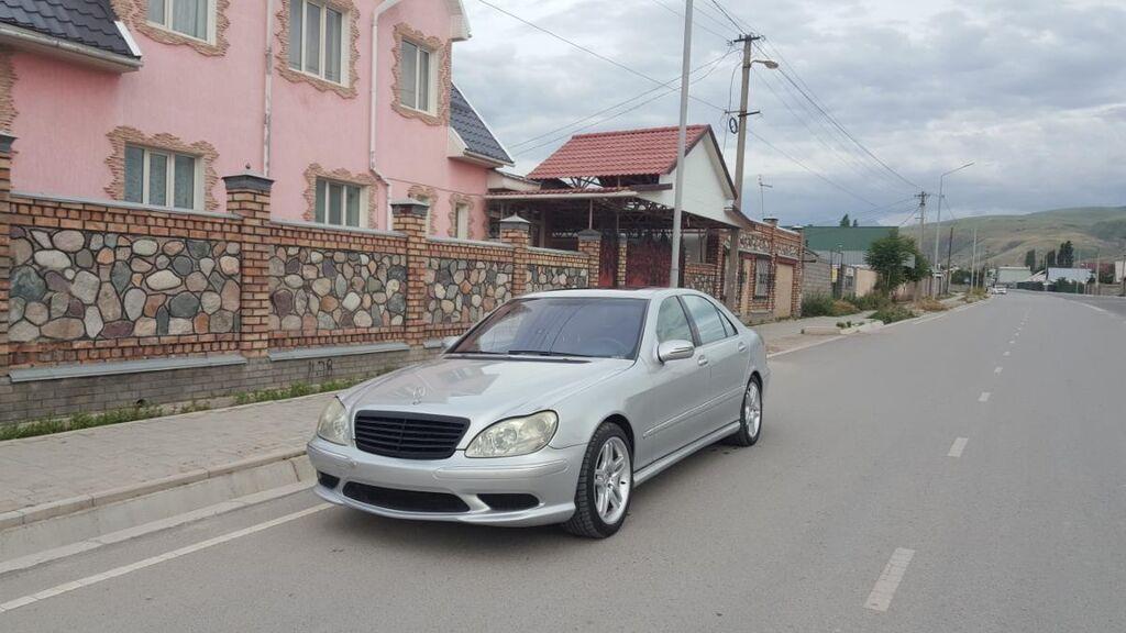 Mercedes-Benz S-Class 5 л. 2001   198000 км