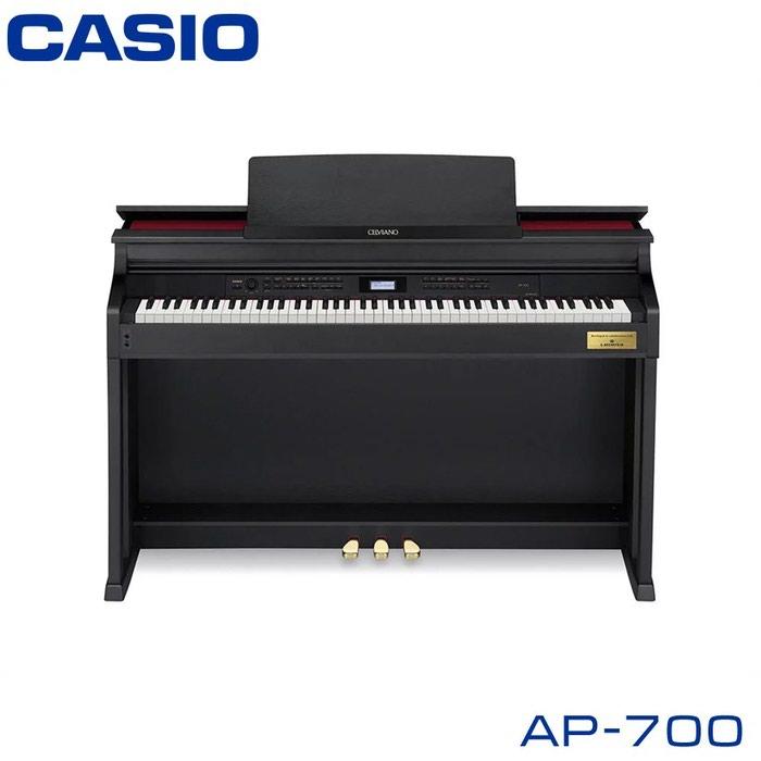 Пианино Casio Celviano AP-700 – это современное цифровое пианино, сочетающее в себе классические черты и функциональность моделей 21 века
