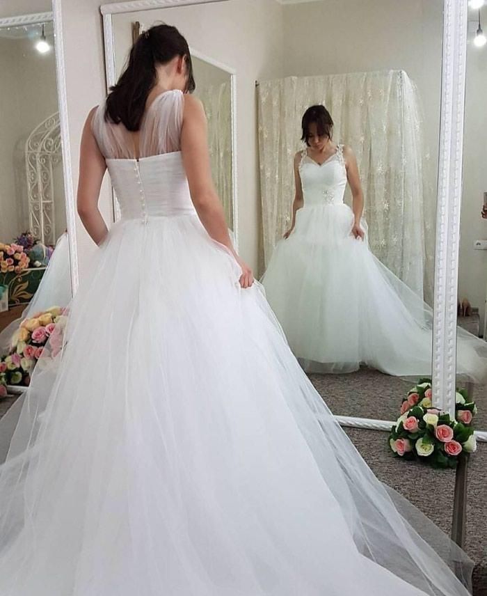 Свадебное платье новое из Америки,размер -42. Photo 1