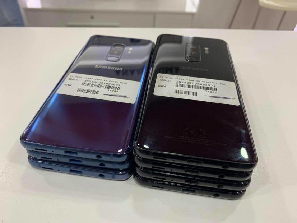 Samsung Galaxy S9 Plus Και Samsung Galaxy S8 (64GB) Οriginal καινουργιες Εκθεσιακές συσκευές