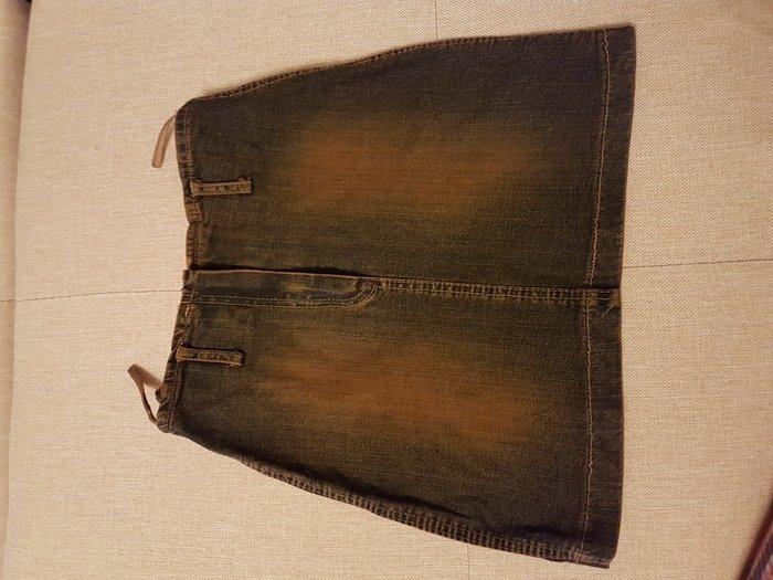 Модная джинсовая юбочка,размер S.. Photo 2