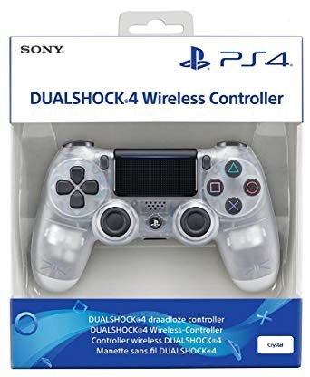 Dualshock 4 crystal white. Photo 0