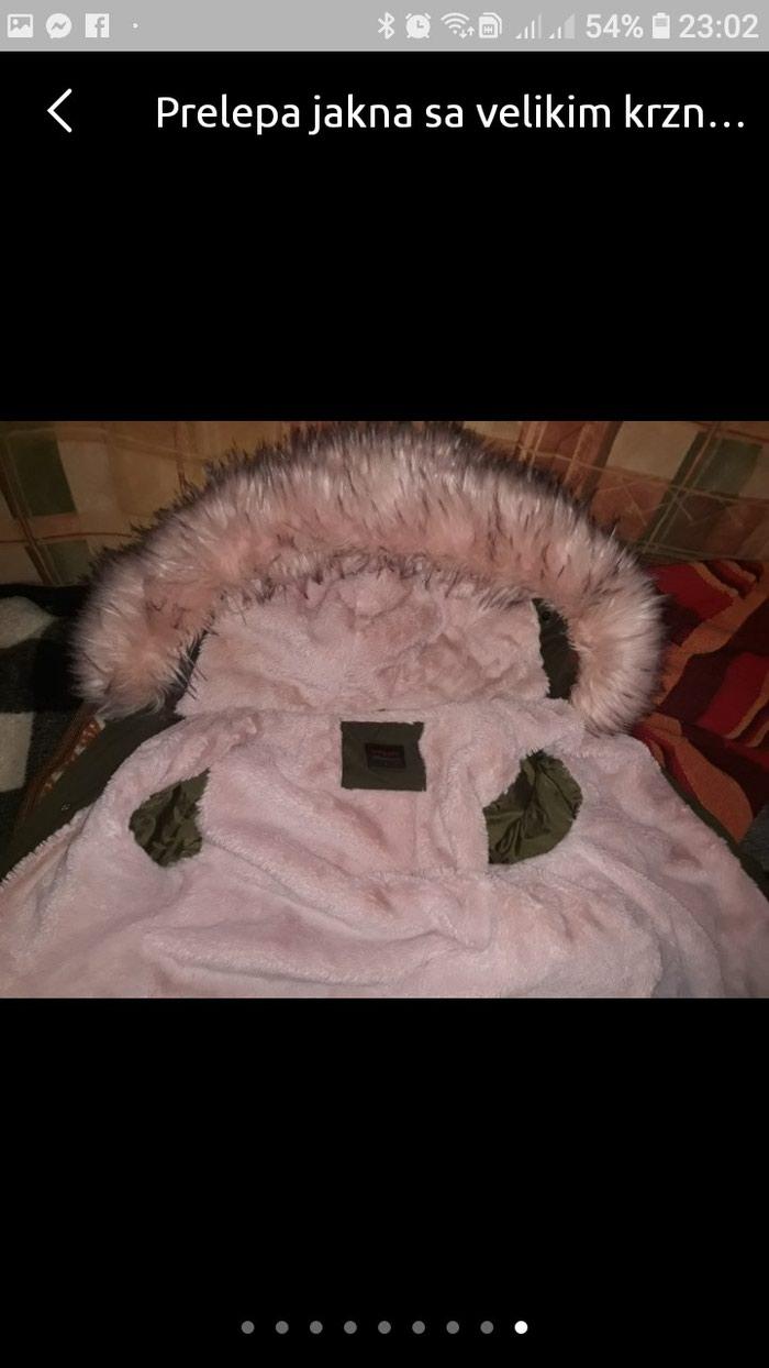 Prelepa jakna sa velikim krznom L velicine.. Photo 2