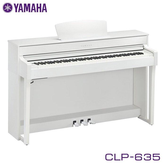 Пианино Yamaha clp-635 – цифровое серии clavinova с молоточковой механикой graded hammer 3x (gh3x) и регулятором хода