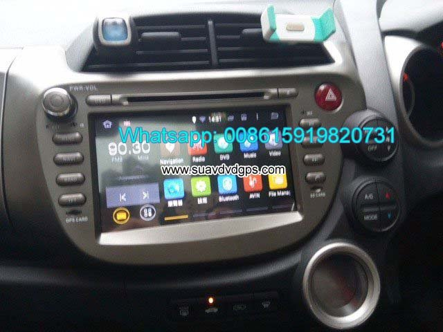 Honda Jazz Fit right hand drive Car Android GPS Radio WIFI 3G DVD player