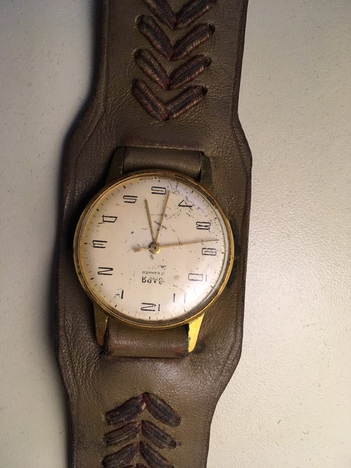 Qadın Qızılı Klassik Qol saatı . Photo 1