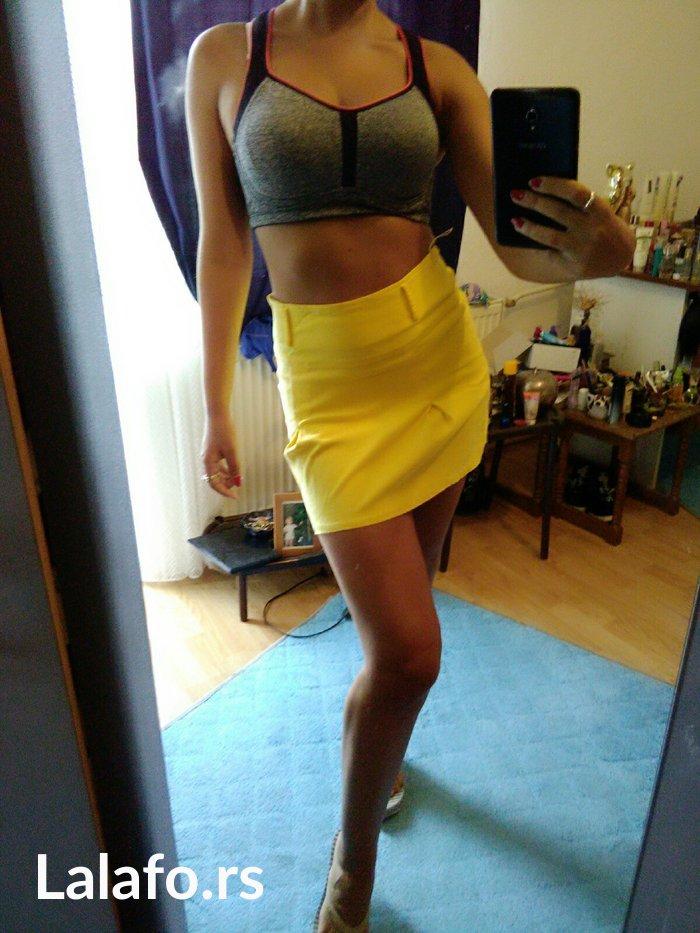 Nova zuta suknja, m vel. - Bor