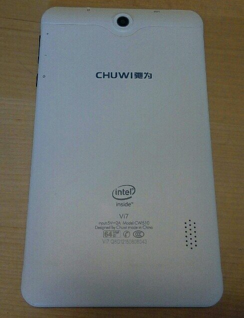 Tablet Chuwi CW510 7 inches με intel cpu. Photo 0