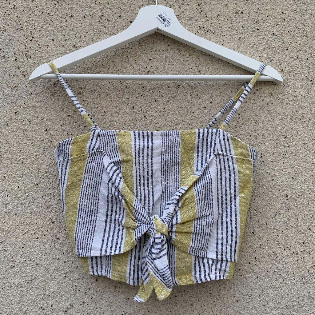 Καλοκαιρινό μπλουζάκι με φερμουάρ(από πίσω)