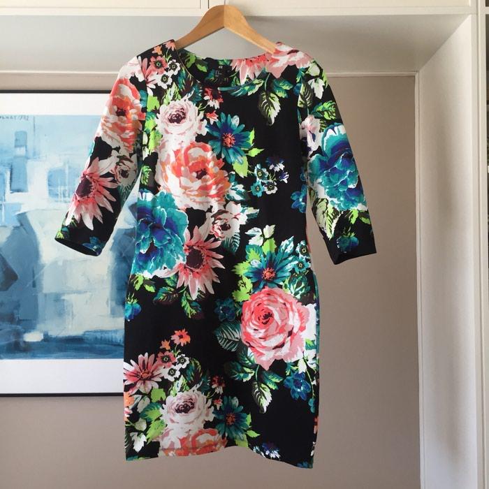 Ολοκαίνουργιο H&M μαύρο floral φόρεμα.. Photo 6