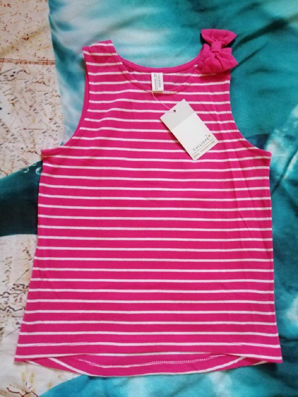 Nova, sa etiketom Calliope majica, za devojčice uzrasta 6-7 godina, tj visine 116-122 cm