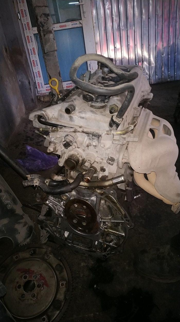Двигатель Тойота королла (ист) 2001г. 1.5 vvti автомат. Photo 0