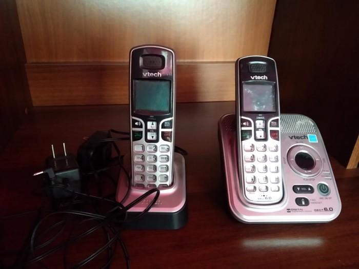 Продаю стационарный телефон безпроводной.. 1500с за полный комплект. Photo 0