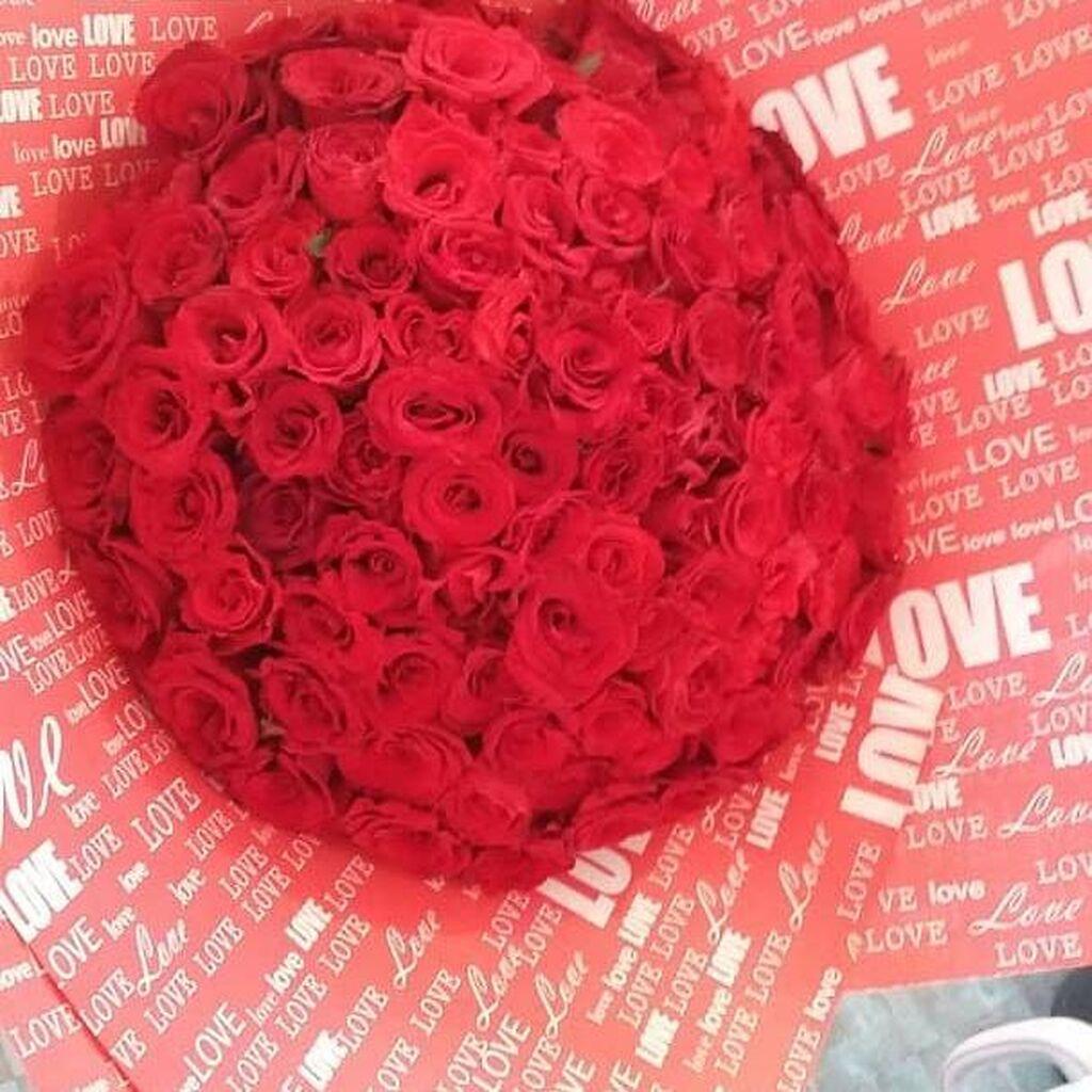 Акция 101 роза всего за 990 сом