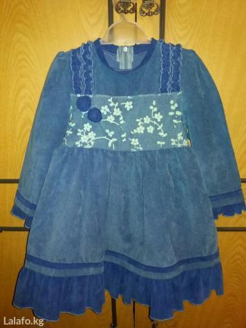 Платье на девочку 3-5 лет. в Бишкеке