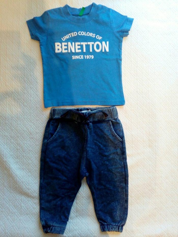 029d8183ffe Benetton tshirt για 1+1μιση ετων 4ευρω,zara τζιν μαλακο 4ευρω σε Ανατολική  Θεσσαλονίκη