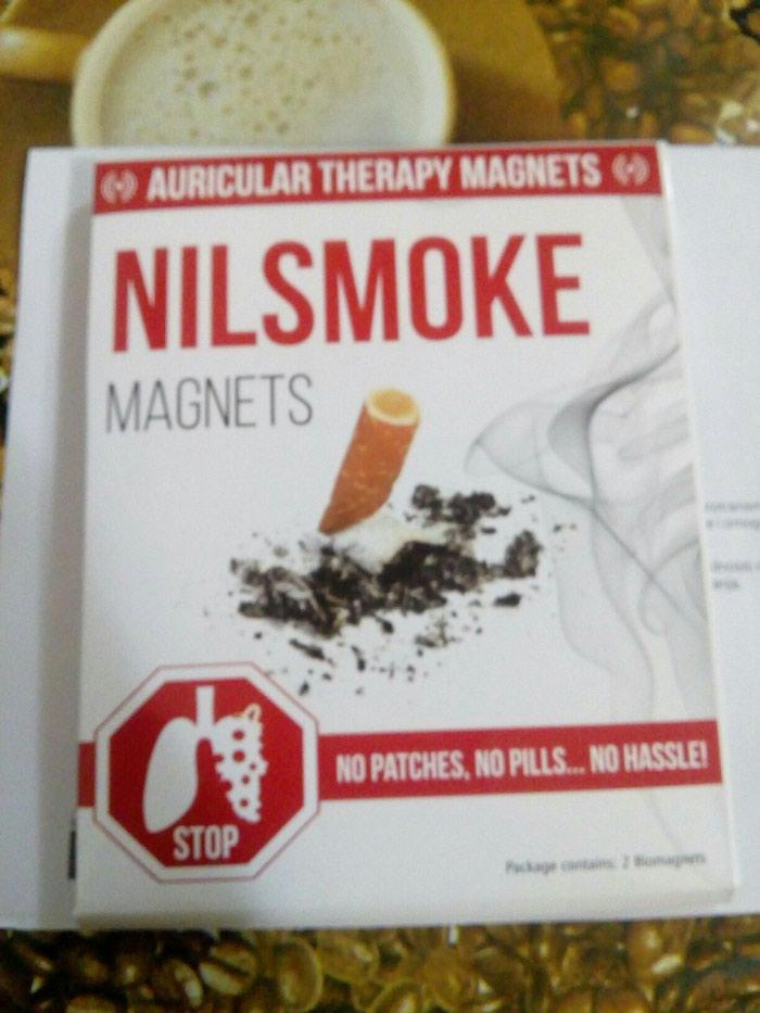 Magneti za odvikavanje od pusenja. Photo 0
