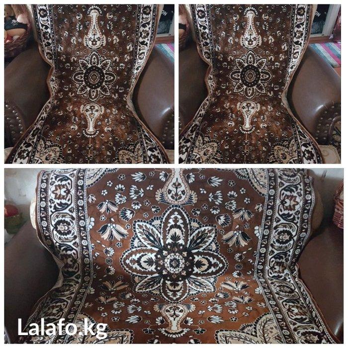 Продам красивые,мягкие,богатые покрывала на диван и два кресла б/у. Ра в Бишкек