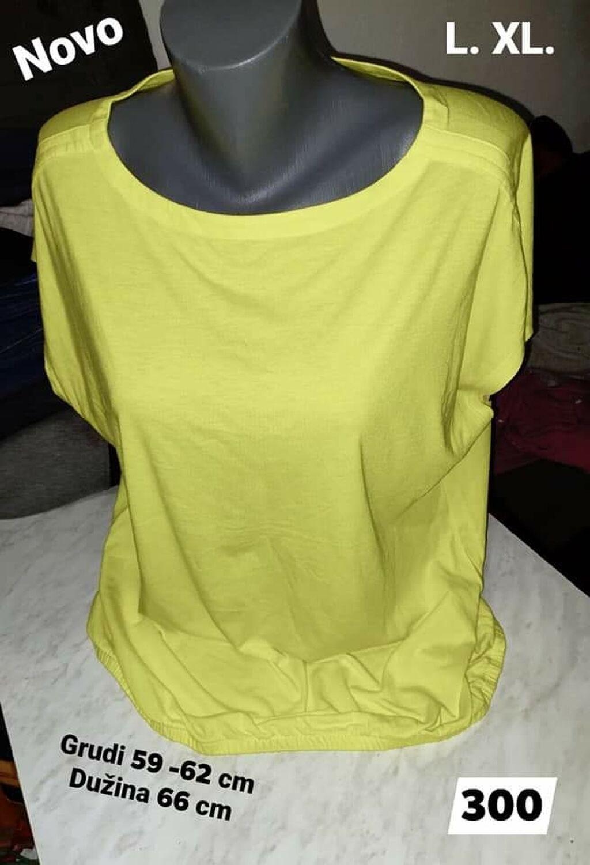 Ženske majice - Leskovac: Novo Majica L. XL  Pamuk elastin Kvalitetna