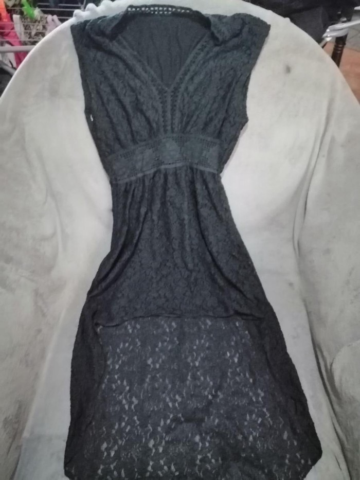 Φόρεμα κοντό μπροστά μακάρι πίσω s/m
